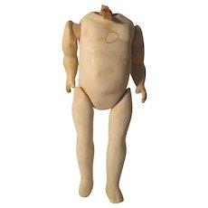 Vintage Seeley Doll Body