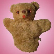 Vintage Puppet Mohair Bear