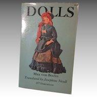 Dolls Book By Max von Boehn