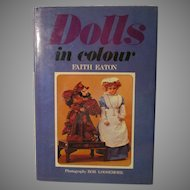Dolls in Color Book By Faith Eaton