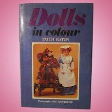 Dolls in Color Book By Faith Eaton