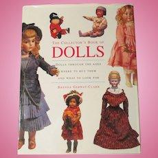 The Collector's Book Of Dolls By Brenda Gerwat -Clark