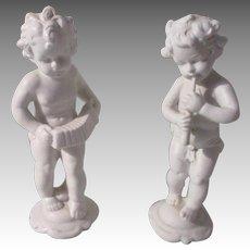 Vintage German Bisque Figures