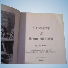 A Treasury of Beautiful Dolls BY John Noble