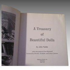 A Treasury of Beautiful Dolls BY John Noble