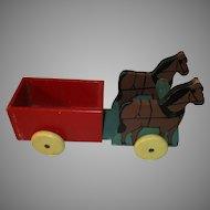 Vintage Children's Wooden Toy