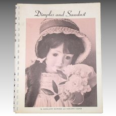 Dimples and Sawdust Book By Madalaine Selfridge and Marlowe Cooper.