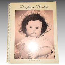 Dimples and Sawdust Book By Marlowe Cooper.