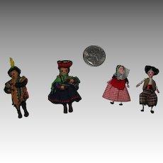 Vintage Miniature Dolls