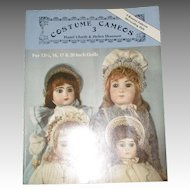 Costume Cameos 3 Doll Bonnet Patterns By Hazel Ulseth & Helen Shannon