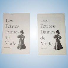Les Petites Dames De Mode Supplement I and II