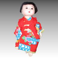 Antique Oriental Baby Doll
