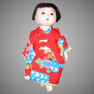 Antique Oriental Baby Doll