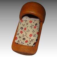 Vintage Shackman Miniature Dollhouse Wooden Cradle