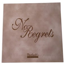 No Regrets By Theriaults
