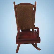 Vintage Shackman Dollhouse Rocking Chair