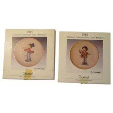 Vintage Hummel Plates
