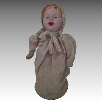 Vintage Metal Head Doll