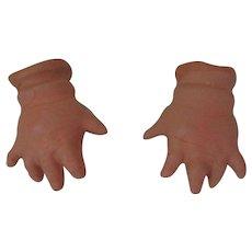 Plaster Doll Hands