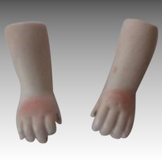 Antique Bisque Arms For Your Doll