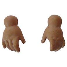 Celluloid Doll Hands