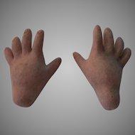 Bisque Doll Hands