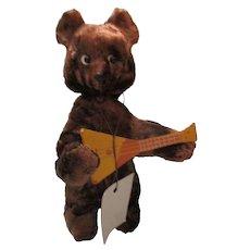 Vintage Russian Mechanical Bear Sasha
