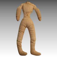 Cloth Doll Body Sawdust Filled