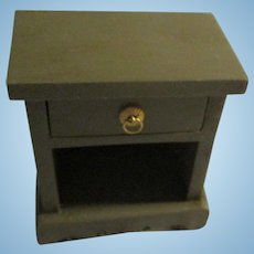 Vintage Doll Table With Drawer For Miniature Dollhouse.