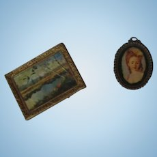 Vintage Pictures for Your Miniature Dollhouse