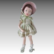 Vintage 1930's  Composition Wendy Ann Madame Alexander Doll