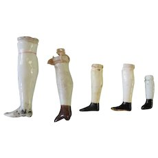 Antique Single China Doll Legs