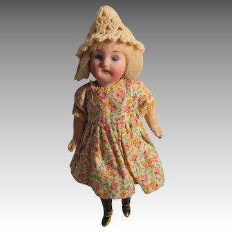 Antique Recknagel Bisque Head Doll