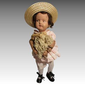 Antique Schoenhut Girl Doll