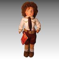Vintage Lenci Boy Doll