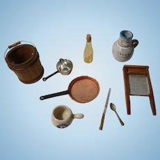 Assorted Items For Your Miniature Doll House