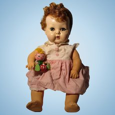 Vintage Tiny Tears Baby Doll