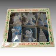 Vintage Christmas Novelty Ornaments