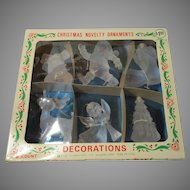 Vintage Christmas Novelty Ornaments