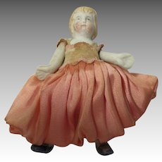 Small Antique Bisque Doll
