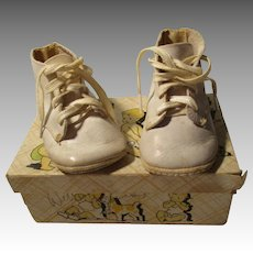 Vintage Baby or Doll Shoes For Your Doll With The Original Box