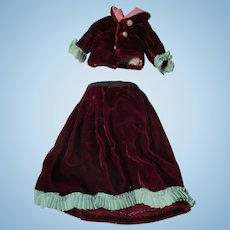 Vintage Homemade Doll Outfit