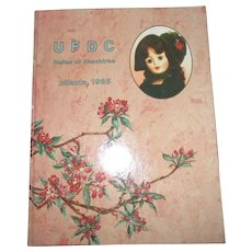 1985 UFDC Convention Book Belles Of Peachtree Atlanta