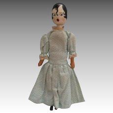 Vintage Wooden Artist Doll