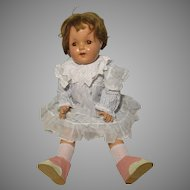 Vintage Effanbee Composition Doll Mary Ann