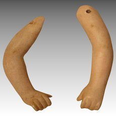 Vintage Bisque Doll Arms