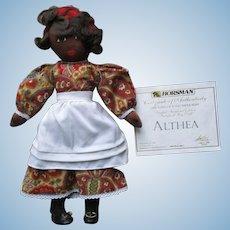 Vintage Cloth Althea Doll.