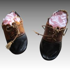 Antique Leather Doll Shoes  # 7