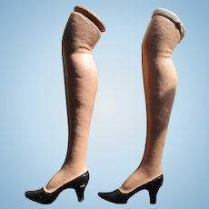 Vintage Composition Doll Legs