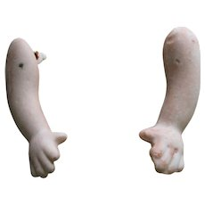 Bisque Doll Arms